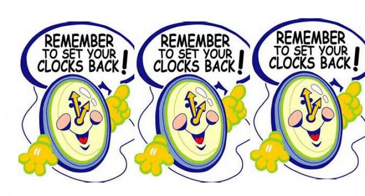 Daylight Savings To End This Sunday