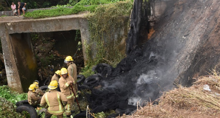Quick Fire  Response Saves Temple