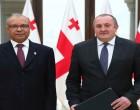 Ambassador Saran Presents Credentials