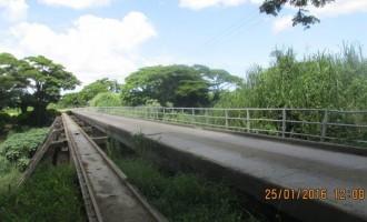 Nadi Back Road Bridge Closed