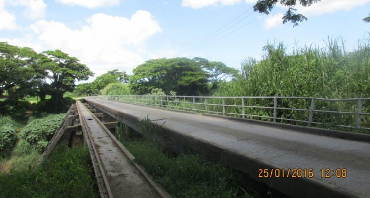Nadi Back Road Bridge Closed