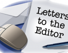 Letters To The Editor 1st May, 2016