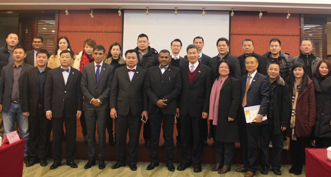 Seminar In China's Jiangmen City Establishes Links For Investment Here