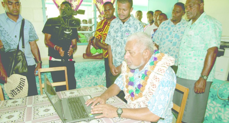 Children Elated At Meeting Bainimarama