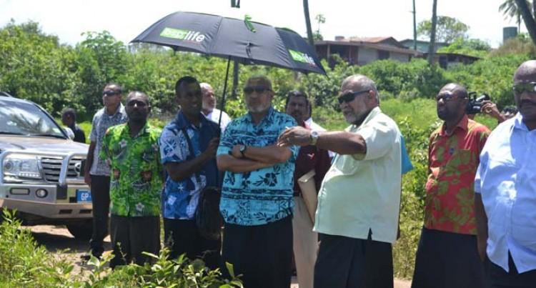 Bainimarama Acknowledges  Work Done For Rice  Development Programme