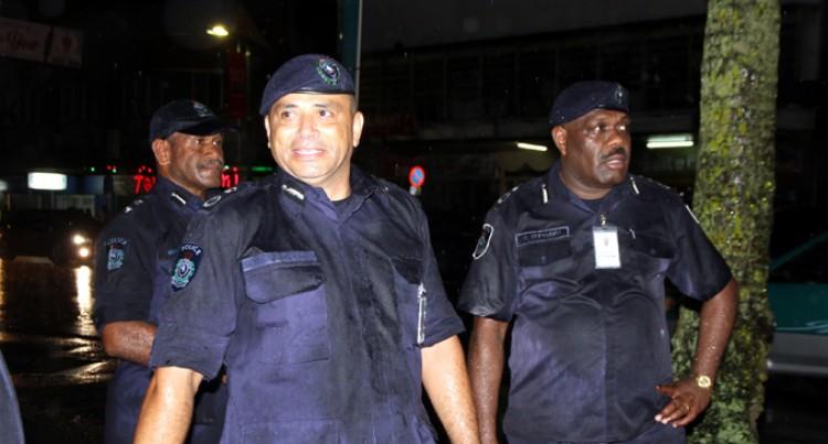 Qiliho Leads Foot Patrol