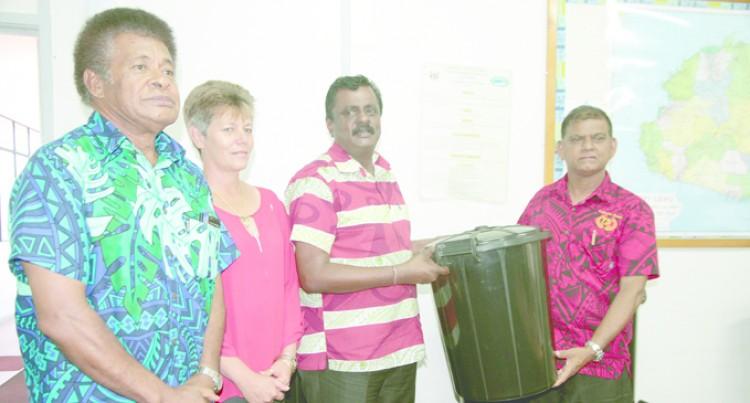 Free Rubbish Bins For  Labasa, Savusavu