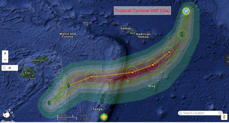 Cyclone Alert For the Lau Group