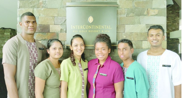 Six USP Interns Joins InterContinental Fiji