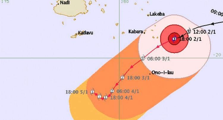 Lau Braces For Cyclone Ula
