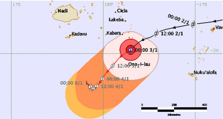 Tropical Cyclone Ula – Situation Report No. 8 (as of 1600 hours, 03/01/2016)