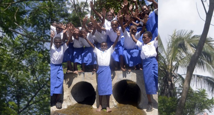 PM Commissions 3 Water Projects In Bukuya