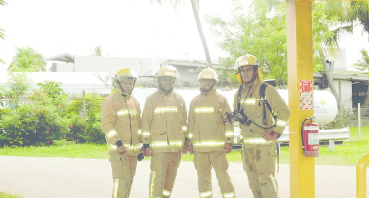 Emergency Personnel In Mock Drill