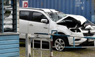 First Lady In Vehicle Accident