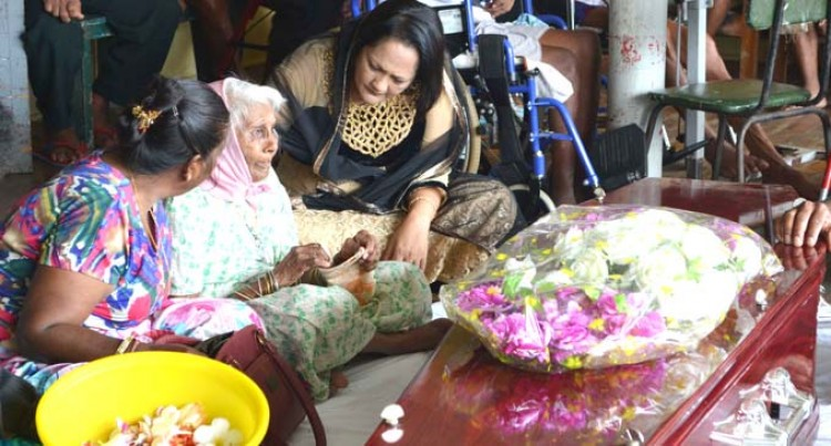 Grieving Mother, 70, Helped By Rosy Akbar