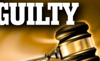 Man Found Guilty Of Possession