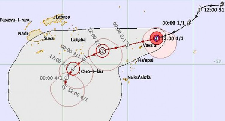 TC Ula Expected To Weaken