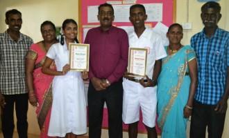 Rinesh Sets School Record