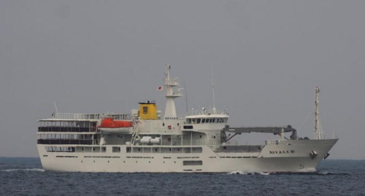 MV Nivaga III Arrives