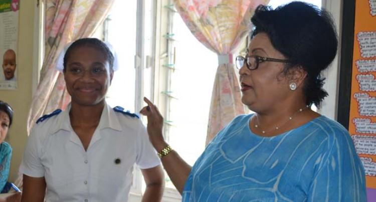 Bhatnagar Touched By Rural Nurses'  Dedication