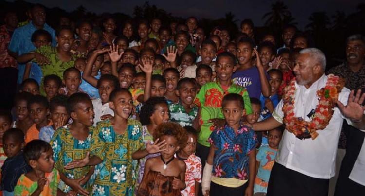 Development For All Fijians: Bainimarama