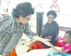 Veena Lights Up Patient's Eyes