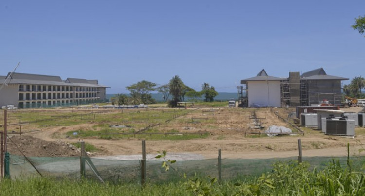 Pullman Nadi Bay Resort And Spa Shaping Up