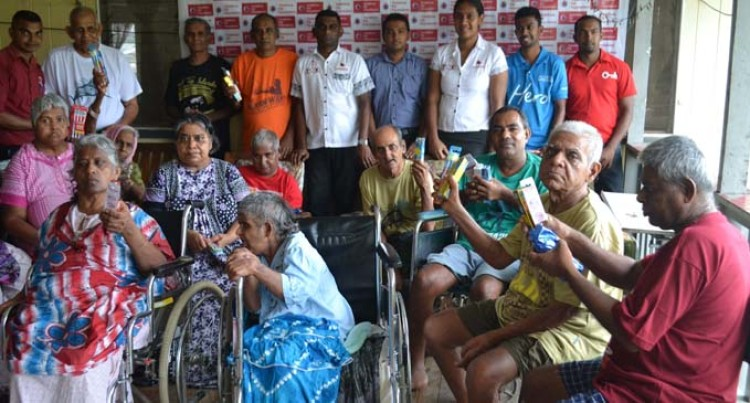 New Year Gifts For Ashram Residents