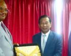 Naiqamu Welcomes Thai  Agriculture Minister
