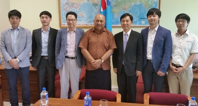Gimco Korea Ltd gives $50,000 towards Prime Minister's disaster relief fund