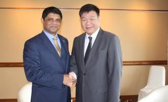 A-G Meets  Climate Change Ambassador