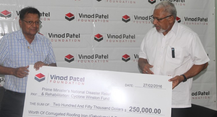 Vinod Patel Helps With Building Materials