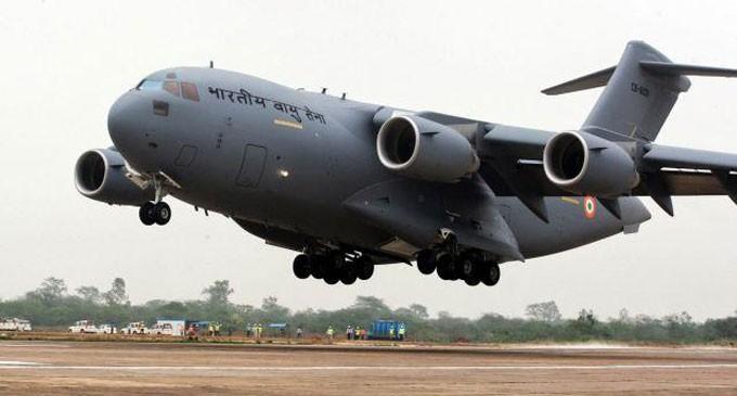India Flies In Help