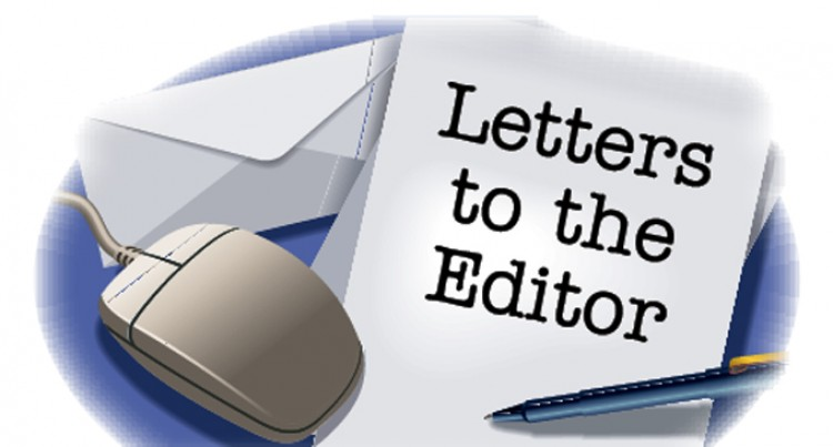Letter To The Editor 24th, March, 2016