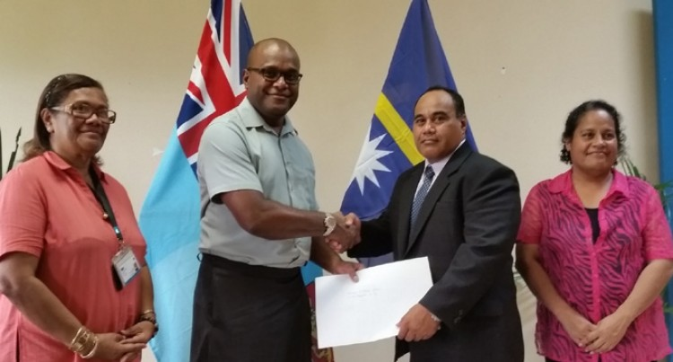 Nauru Gives $154,000  To Help Us