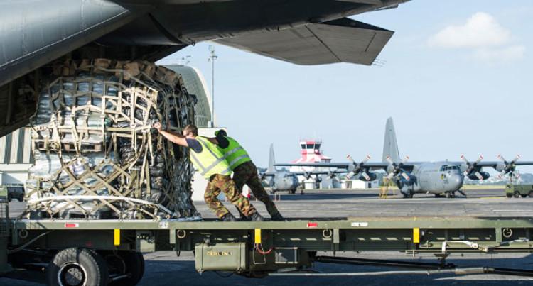 NZDF C-130 Hercules Transports Help Here
