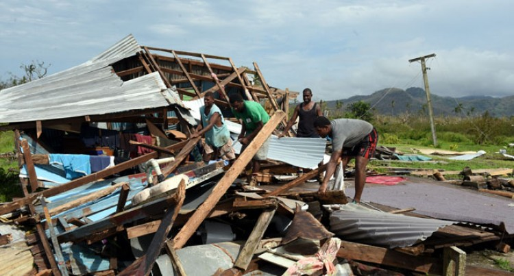 NGOs help with  TC Winston  relief supplies