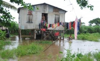 Rakiraki Town Flooded