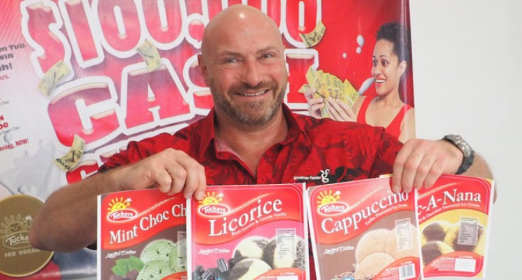 Tuckers Introducing Four New Ice Cream Flavours