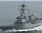 US Destroyer  Arrives In Suva