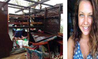 Woman Live Tweets Her Home Being Destroyed