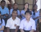3 Japanese students join Nadi school