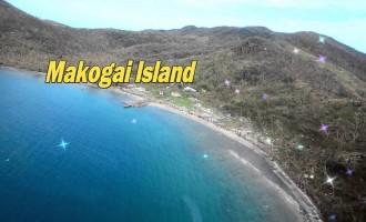 Aerial Shots Of Makogai Island After TC Winston