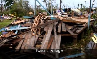Effects Of TC Winston On Tailevu Villages