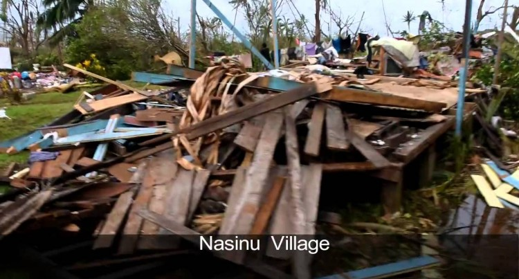 Effects Of TC Winston On Tailevu Villages