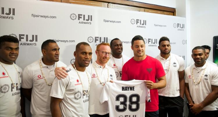 Hayne Visit Boosts Team