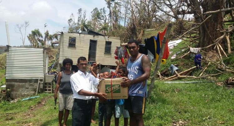 MH Staff  Bring Relief  For Villagers