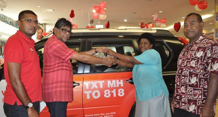 Nunia Wins Nissan Xtrail Through Texting