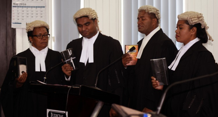 Lawyers Urged To Follow Sir Timoci