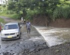 Minister Visits Flood Areas  In Tavua
